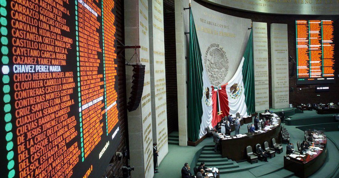 Sesión ordinaria semipresencial de la Cámara de Diputados en se sometió a discusión diversos dictámenes de las comisiones de comunicaciones y transportes; igualdad de género; medio ambiente; transparencia y corrupción; presupuesto y cuenta pública; y comisión de radio y televisión.