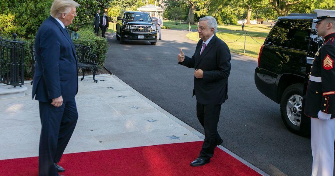 El Presidente de Estados Unidos, Donald Trump, ofreció una cena en la Casa Blanca  en honor del Presidente de México, Andrés Manuel López Obrador, y su comitiva.