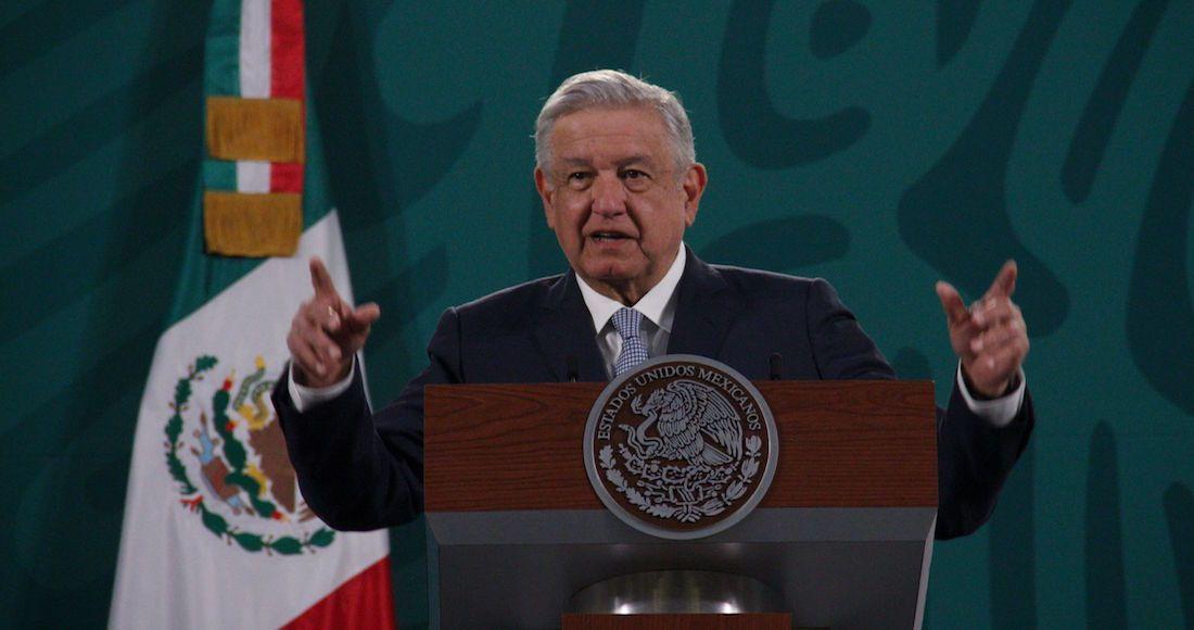 Andrés Manuel López Obrador, presidente de México, durante la conferencia matutina donde se destacó el tema de economía y programas sociales