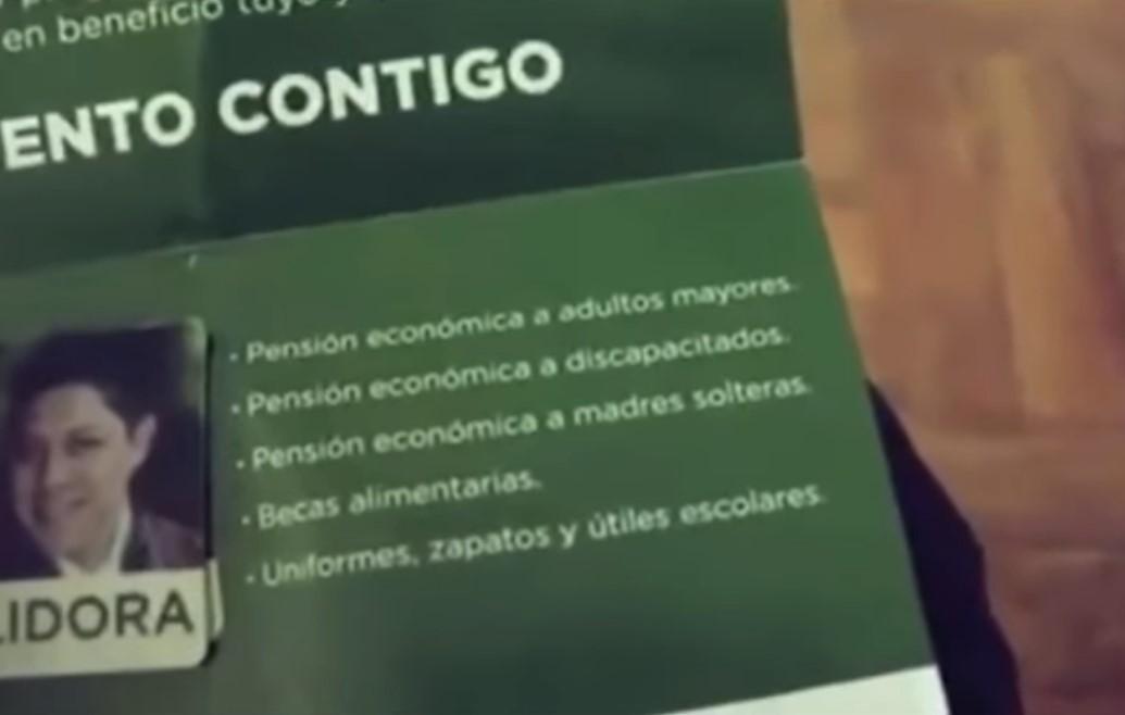 CANDIDATO ofrece tarjetas 2