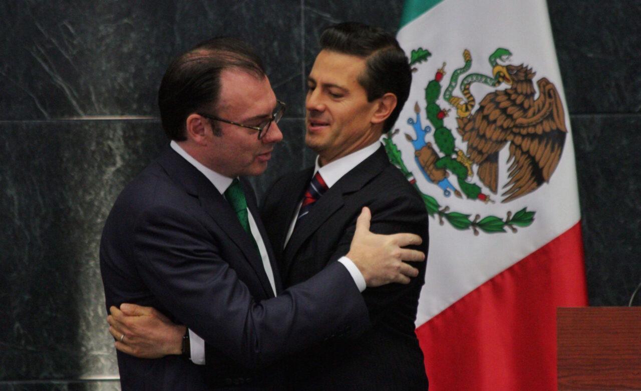 CIUDAD DE MÉXICO, 07SEPTIEMBRE2016.- Enrique Peña Nieto, Presidente de México, anunció la salida de Luis Videgaray Caso a la secretaría de Hacienda y Crédito Público, en la residencia Oficial de Los Pinos.FOTO: MOISÉS PABLO /CUARTOSCURO.COM